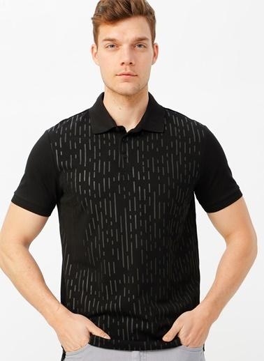 Fabrika Polo Tişört Siyah